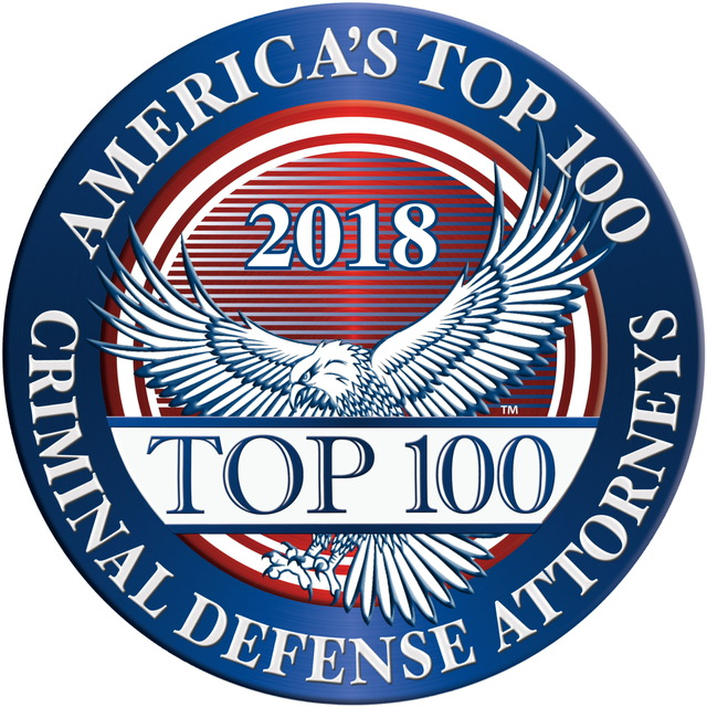 America's Top 100 Criminal Defense Attorneys for 2018